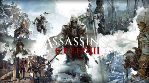 assassin's creed,assassin's creed 3,connor kenway,ubisoft,jeu vidéo,révolution américaine,amérindien