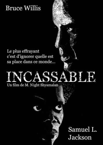 affiche incassable,cinéma,film,bruce willis,samuel l. jackson,m. night shyamalan,dessin,illustration,fanart