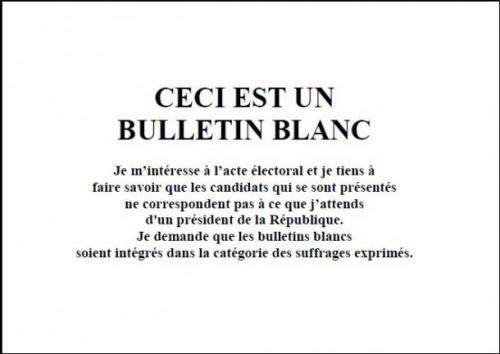 vote blanc,démocratie,citoyen responsable,élections