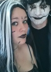halloween,halloween tours,halloween tours 2015,halloween 2015,cosplay the crow,cosplay gothique,cosplay sorcière,maquillage halloween,maquillage the crow,maquillage gothique