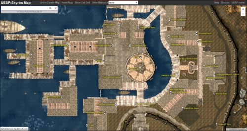 uesp skyrim map v2,skyrim map,skyrim carte complète