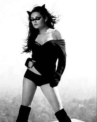batman,catwoman,gotham city,mila kunis