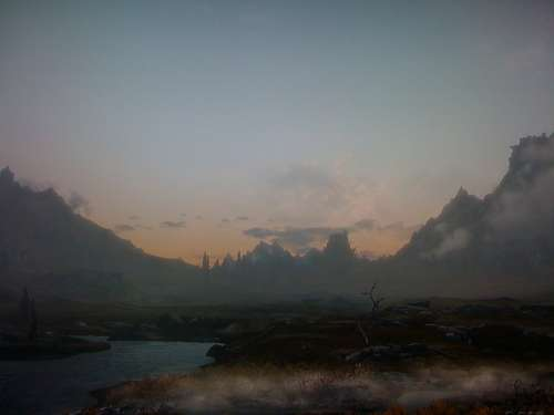 skyrim,rpg,jeu vidéo,pictures,images,paysages,style nordique,screens,screenshots,panoramas