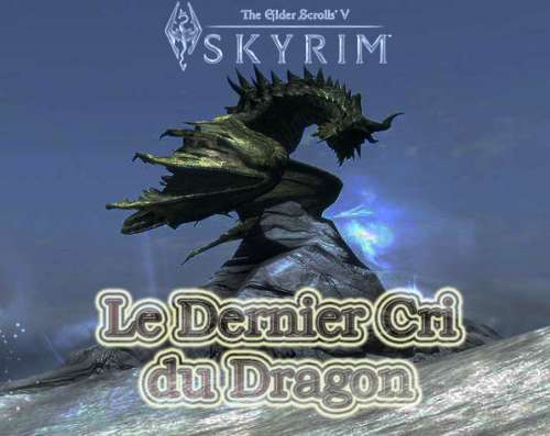 fanfic skyrim, le dernier cri du dragon,