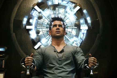 total recall mémoires programmées,s-f,action futuriste,anticipation,colin farell,kate beckinsale,jessica biel