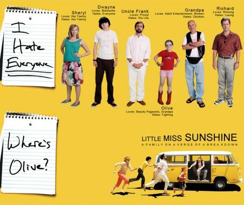 little miss sunshine, cinéma, famille, comédie, drame