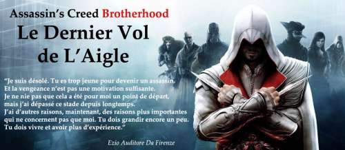 assassin's creed,fanfic,nouvelle,jeu vidéo,assassin's creed brotherhood