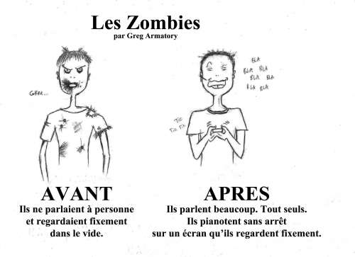 zombies, société,technologie
